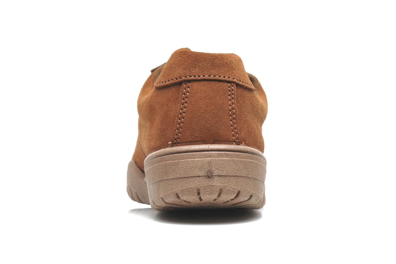 Baskets UMO Confort Atlas Marron vue droite