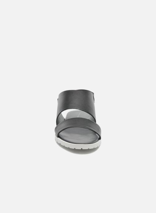 Sandales et nu-pieds Fabio Rusconi Lunaire Noir vue portées chaussures