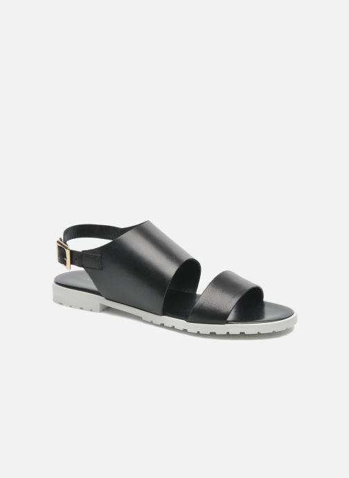 Sandales et nu-pieds Fabio Rusconi Lunaire Noir vue détail/paire