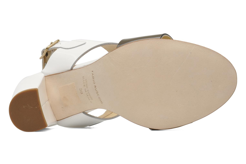 Sandales et nu-pieds Fabio Rusconi Myosotis Blanc vue haut