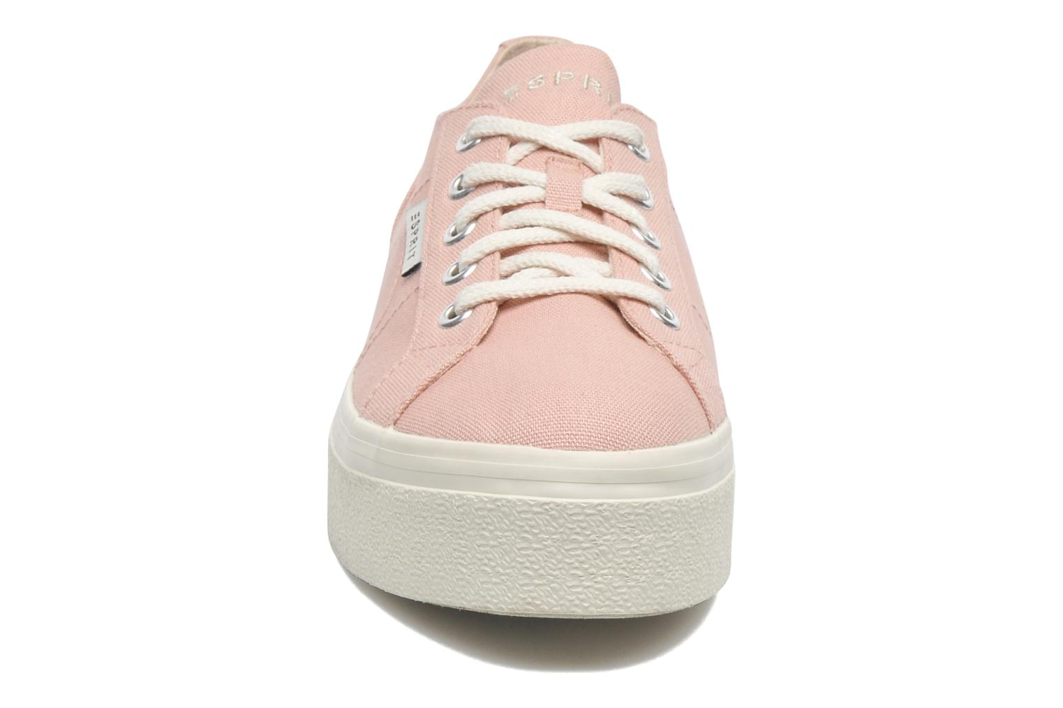 Sneakers Esprit Starry Lace up 045 Rosa modello indossato