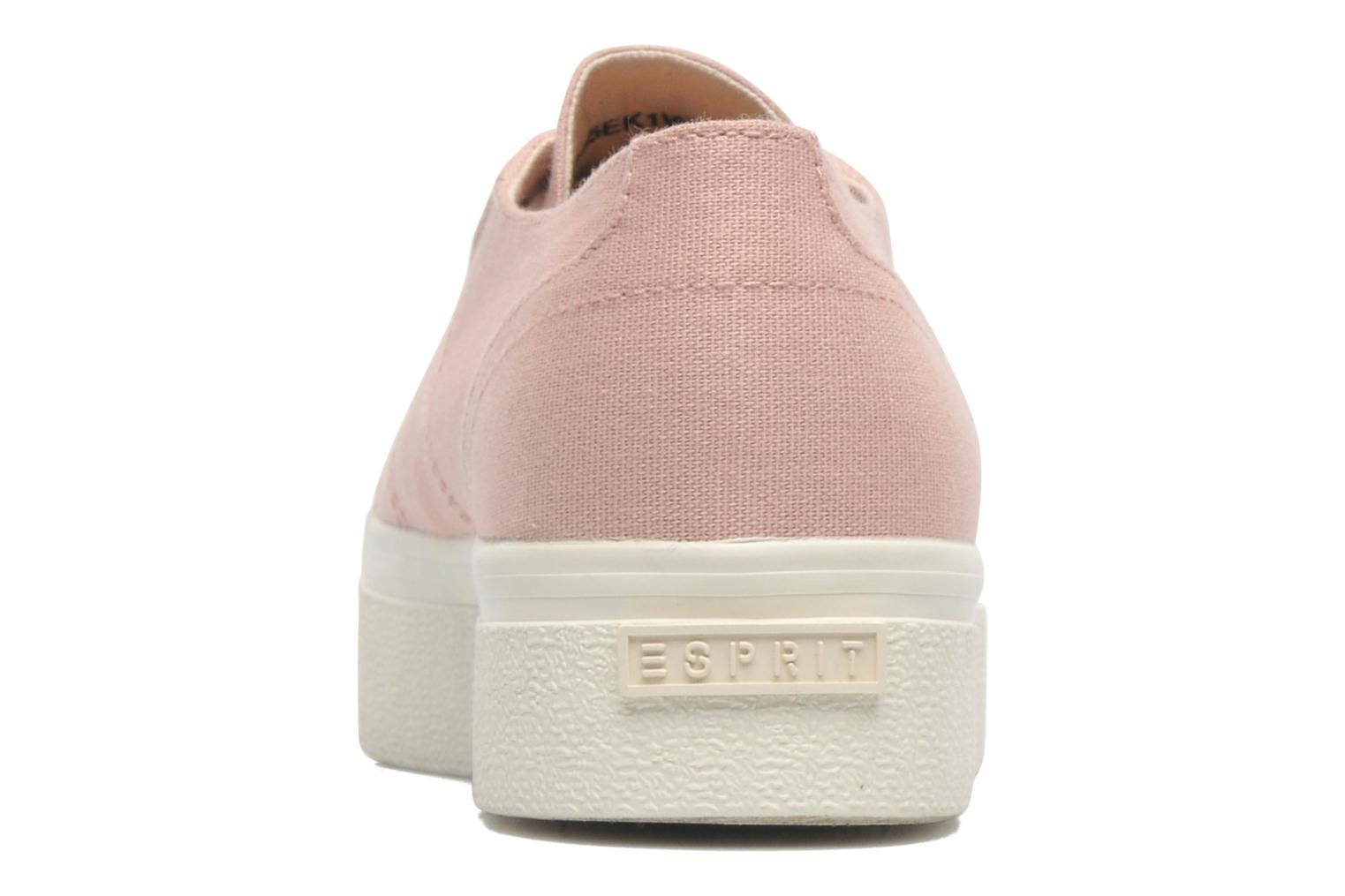 Sneakers Esprit Starry Lace up 045 Rosa immagine destra
