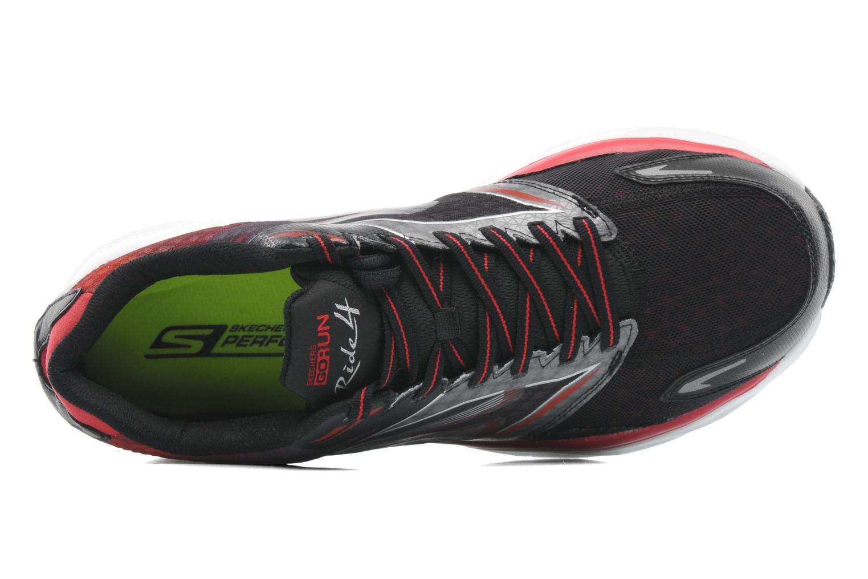 Chaussures de sport Skechers Go Run Ride 4 53998 Noir vue gauche