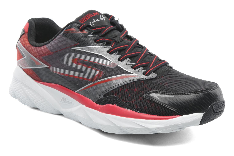 Chaussures de sport Skechers Go Run Ride 4 53998 Noir vue détail/paire