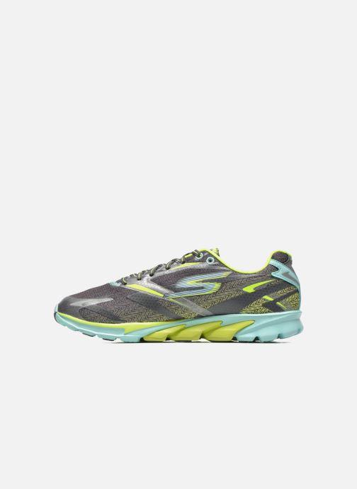 Zapatillas de deporte Skechers Go Run 4 13995 Gris vista de frente