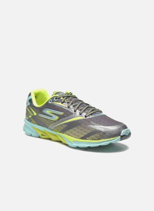 Chaussures de sport Skechers Go Run 4 13995 Gris vue détail/paire