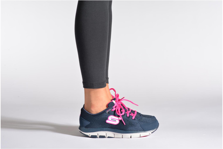 Sneakers Shape-Ups Liv 99999830 Blauw onder