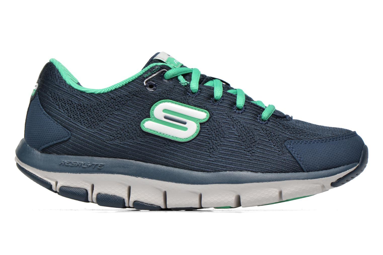 Sneakers Shape-Ups Liv 99999830 Blauw achterkant