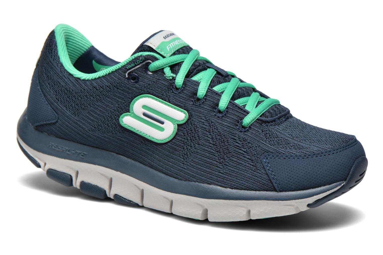 Sneakers Shape-Ups Liv 99999830 Blauw detail