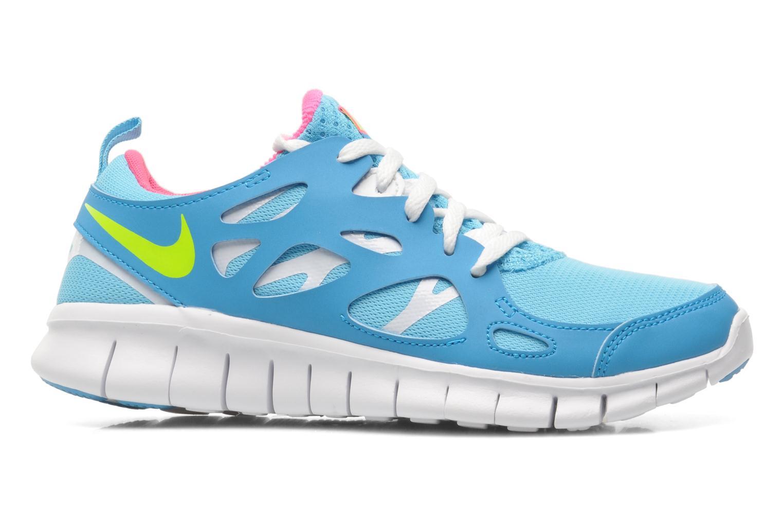 Sneakers Nike NIKE FREE RUN 2 (GS) Azzurro immagine posteriore