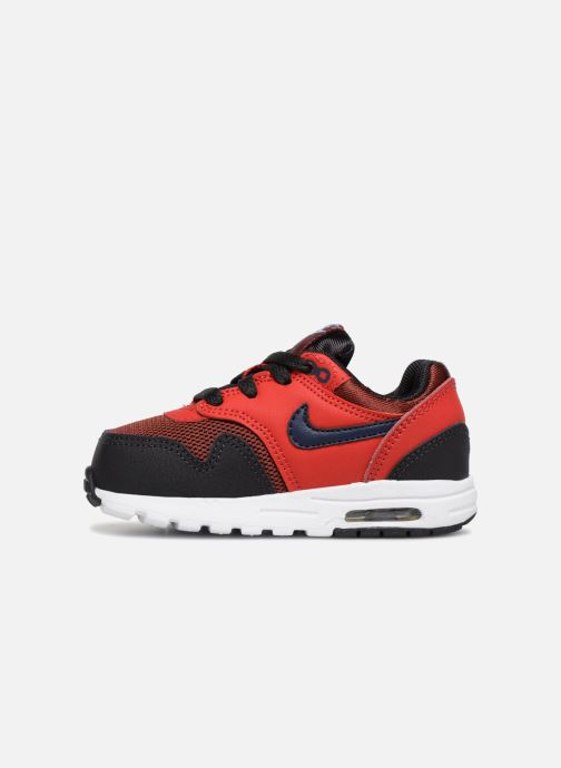Trainers Nike AIR MAX 1 (TD) Red front view