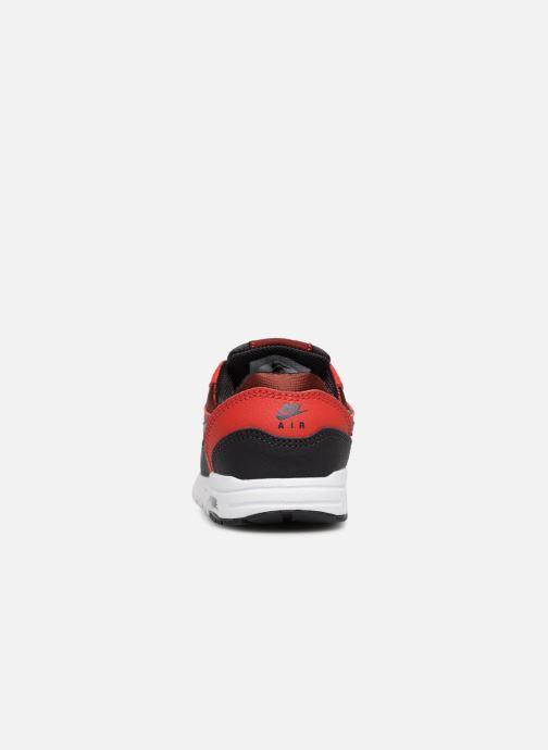 Baskets Nike AIR MAX 1 (TD) Rouge vue droite