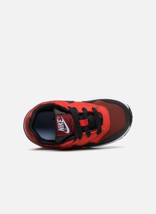 Baskets Nike AIR MAX 1 (TD) Rouge vue gauche
