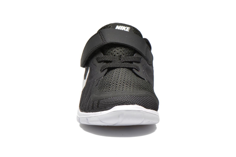 Baskets Nike Nike Free 5 (Tdv) Noir vue portées chaussures