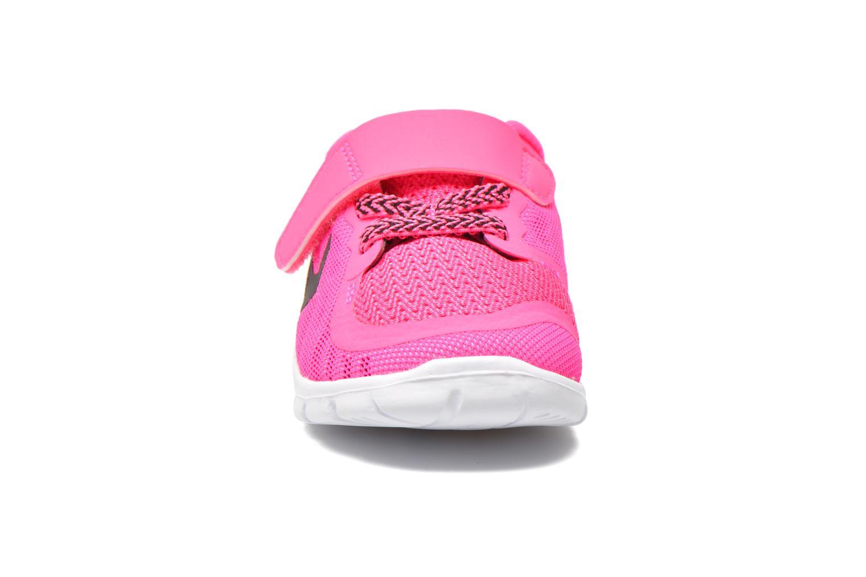 Baskets Nike Nike Free 5 (Tdv) Rose vue portées chaussures