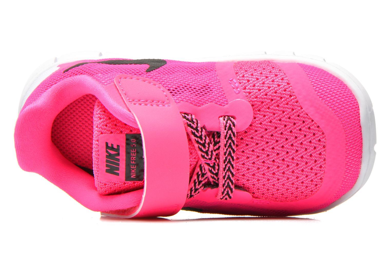 Baskets Nike Nike Free 5 (Tdv) Rose vue gauche