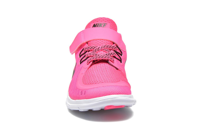 Baskets Nike NIKE FREE 5 (PSV) Rose vue portées chaussures