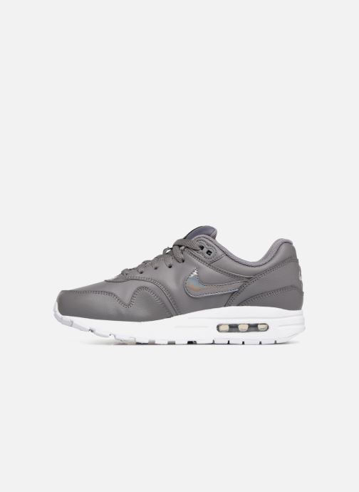 Sneakers Nike AIR MAX 1 (GS) Grigio immagine frontale