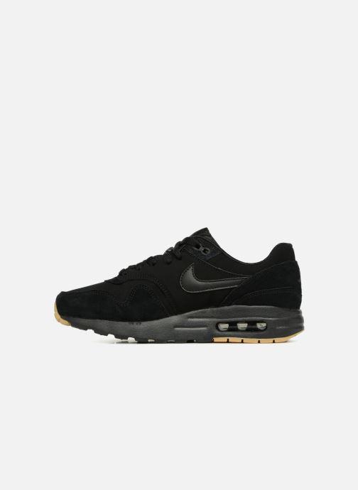 Sneaker Nike AIR MAX 1 (GS) schwarz ansicht von vorne
