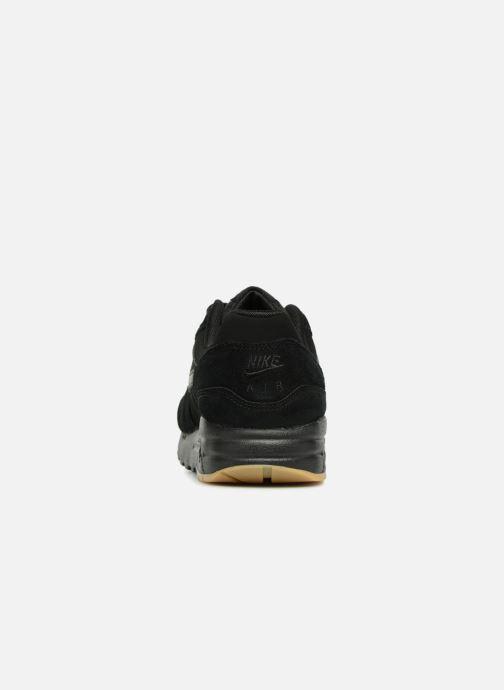 Sneaker Nike AIR MAX 1 (GS) schwarz ansicht von rechts