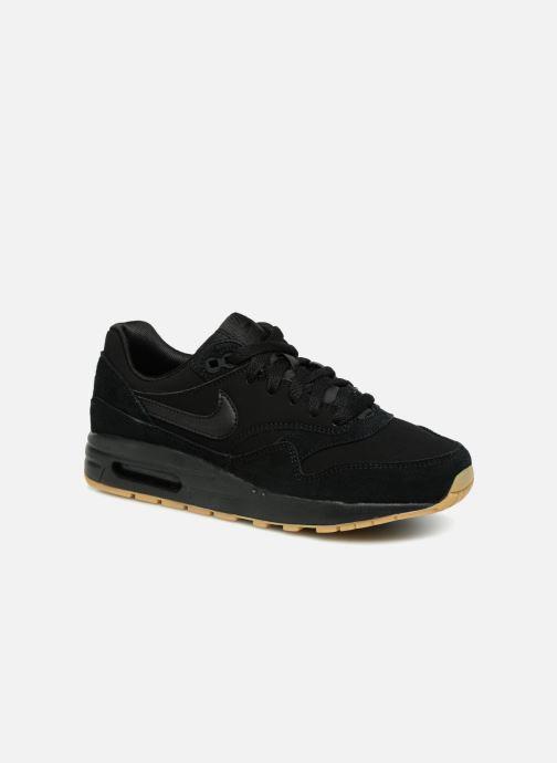 Sneaker Nike AIR MAX 1 (GS) schwarz detaillierte ansicht/modell