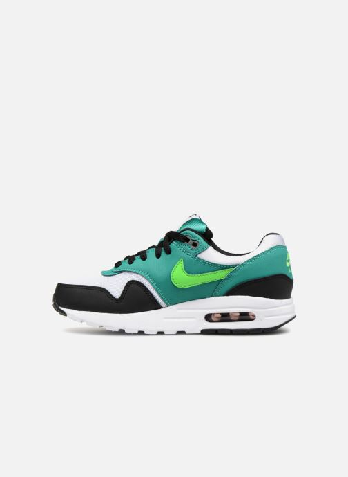 Trainers Nike AIR MAX 1 (GS) Green front view