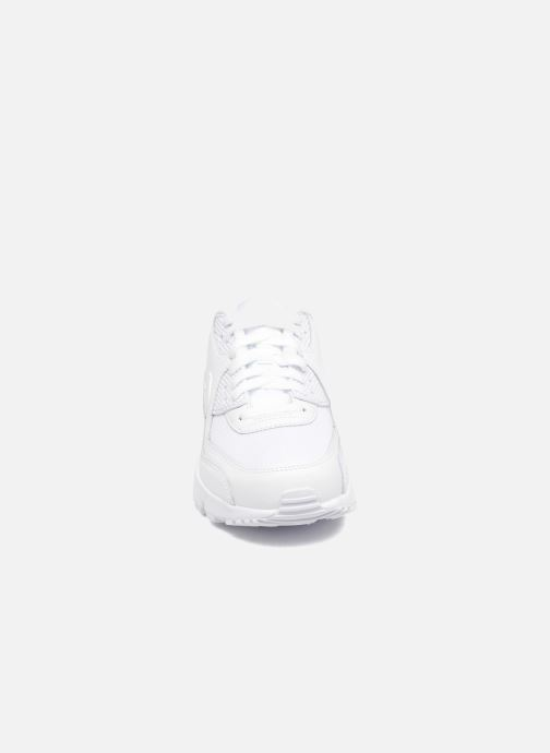 Nike NIKE AIR MAX 90 MESH (GS) Trainers in White at Sarenza