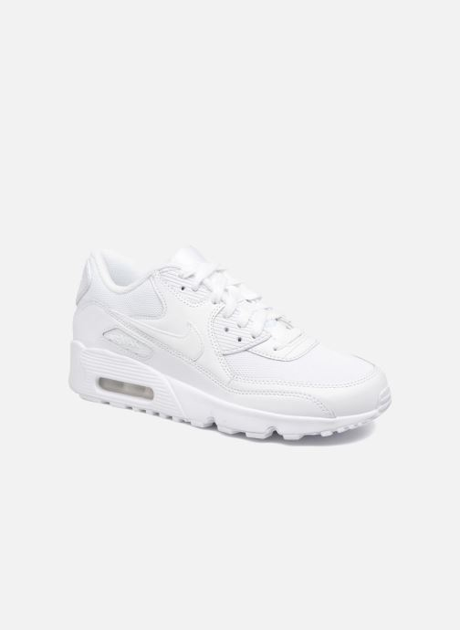 Nike NIKE AIR MAX 90 MESH (GS) (Blanc) Baskets chez