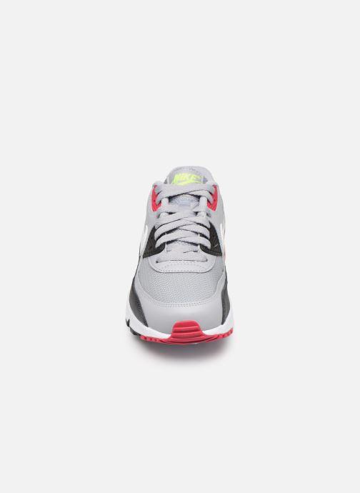 Sneakers Nike NIKE AIR MAX 90 MESH (GS) Grigio modello indossato