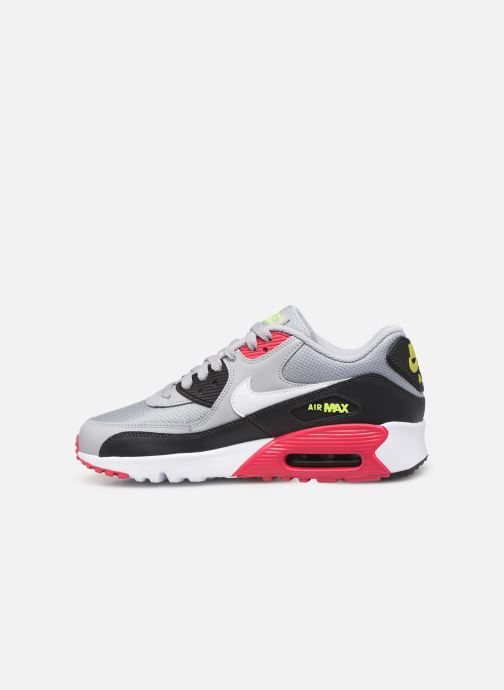 Baskets Nike NIKE AIR MAX 90 MESH (GS) Gris vue face