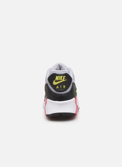 Deportivas Nike NIKE AIR MAX 90 MESH (GS) Gris vista lateral derecha