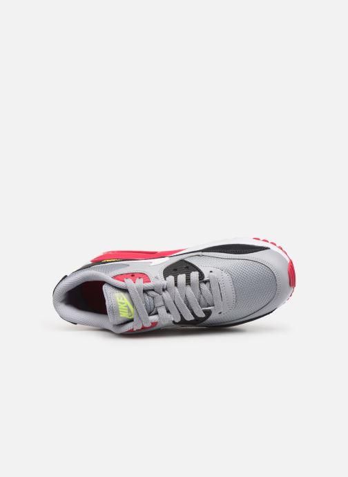 Deportivas Nike NIKE AIR MAX 90 MESH (GS) Gris vista lateral izquierda