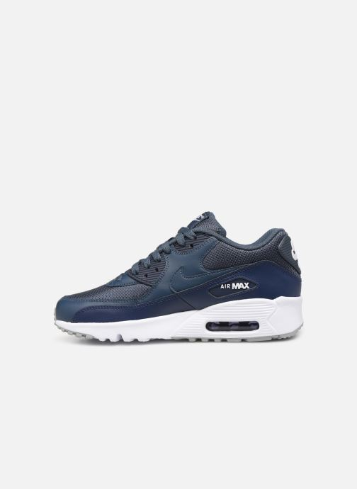 Sneakers Nike NIKE AIR MAX 90 MESH (GS) Blauw voorkant