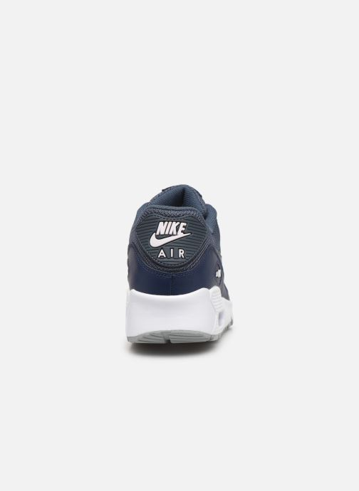 Sneakers Nike NIKE AIR MAX 90 MESH (GS) Azzurro immagine destra