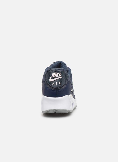 Sneakers Nike NIKE AIR MAX 90 MESH (GS) Blauw rechts