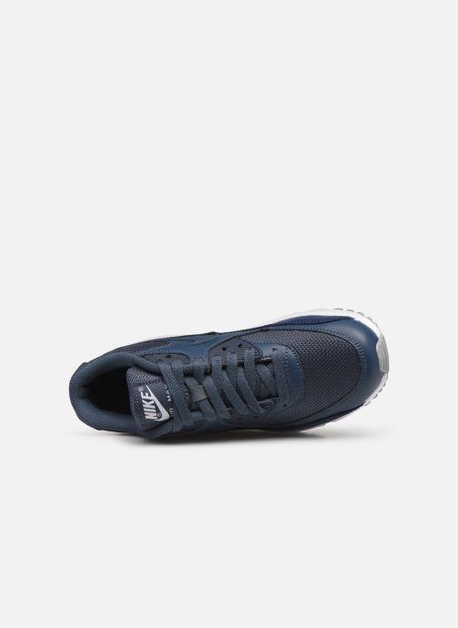 Sneakers Nike NIKE AIR MAX 90 MESH (GS) Blauw links
