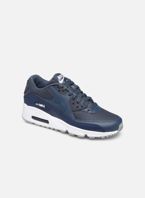 Sneakers Nike NIKE AIR MAX 90 MESH (GS) Blauw detail