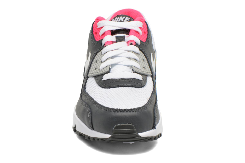 Trainers Nike NIKE AIR MAX 90 MESH (GS) White model view