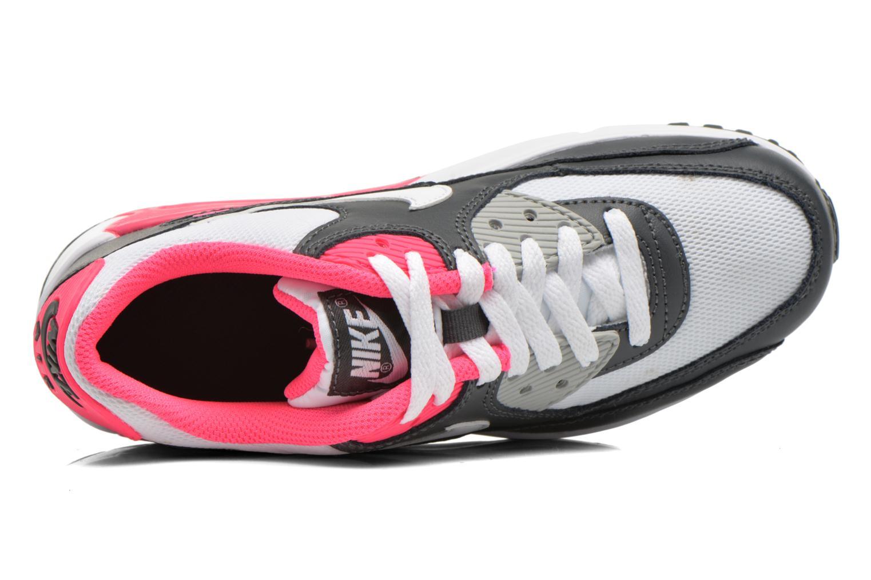 Baskets Nike NIKE AIR MAX 90 MESH (GS) Blanc vue gauche