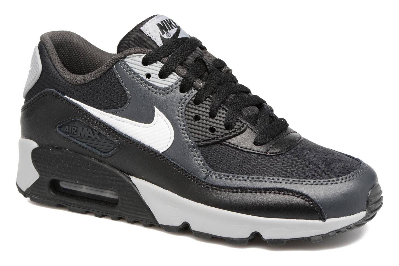 half off d82ce 3123b Sneakers Nike NIKE AIR MAX 90 MESH (GS) Zwart detail