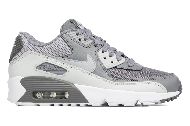 Trainers Nike NIKE AIR MAX 90 MESH (GS) Grey back view