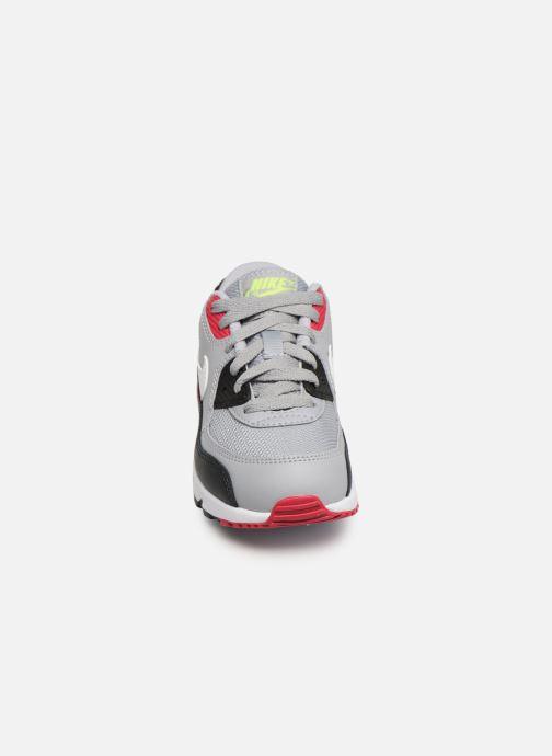 Sneakers Nike NIKE AIR MAX 90 MESH (PS) Grigio modello indossato