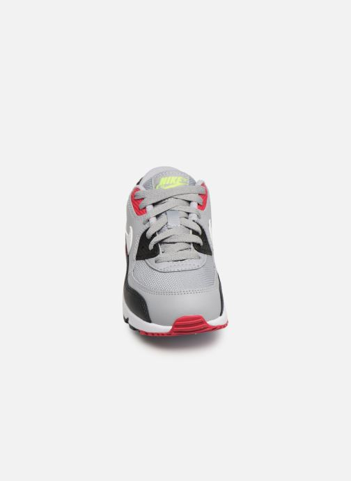 online retailer 50490 7fff4 Baskets Nike NIKE AIR MAX 90 MESH (PS) Gris vue portées chaussures