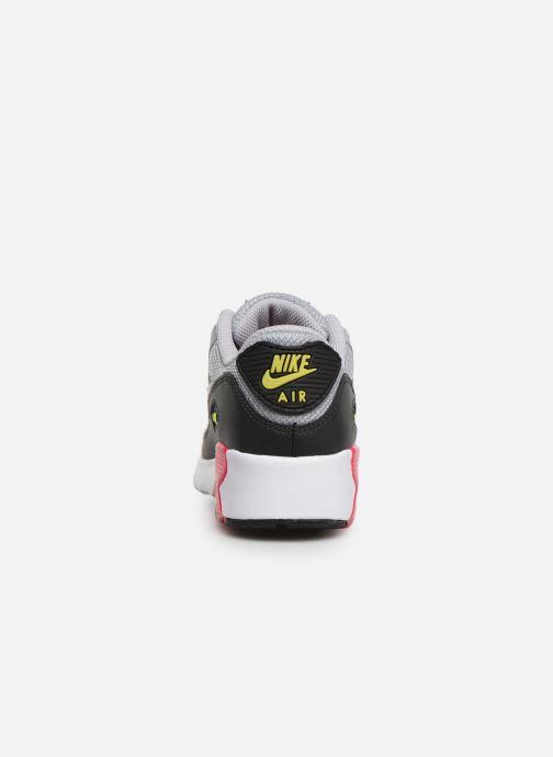 Deportivas Nike NIKE AIR MAX 90 MESH (PS) Gris vista lateral derecha