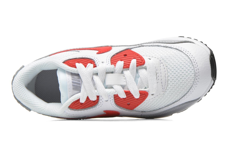 Baskets Nike NIKE AIR MAX 90 MESH (PS) Blanc vue gauche