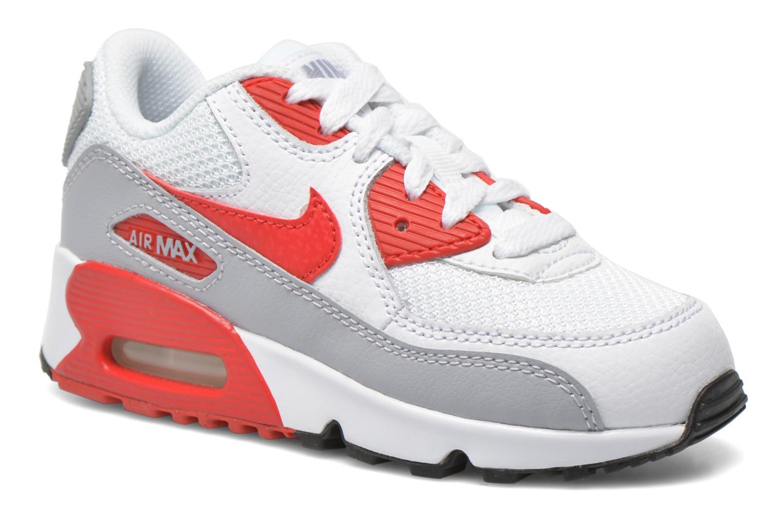 Nike Nike (Ps) Air Max 90 Mesh (Ps) Nike (Blanc) Baskets Chez Sarenza (265759) 889ccb