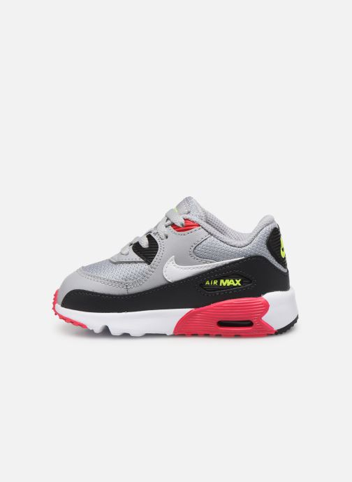 nike AIR MAX 90 MESH (PS) ANTHRACITEWHITE HYPER PINK bei