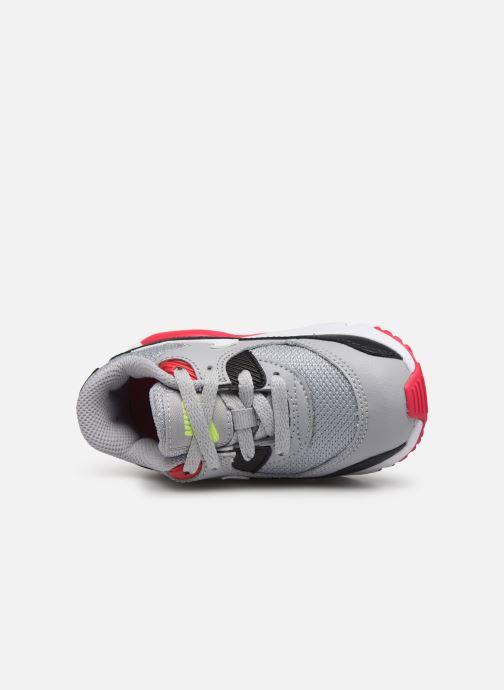 Sneaker Nike NIKE AIR MAX 90 MESH (TD) grau ansicht von links