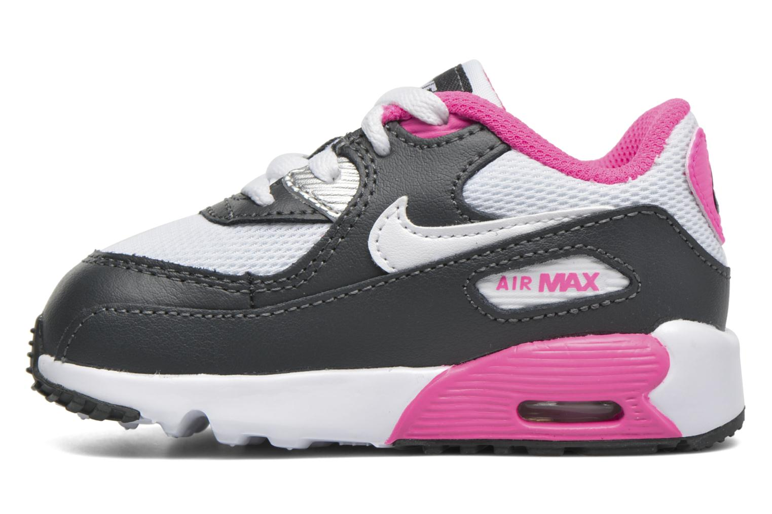 Baskets Nike NIKE AIR MAX 90 MESH (TD) Rose vue face