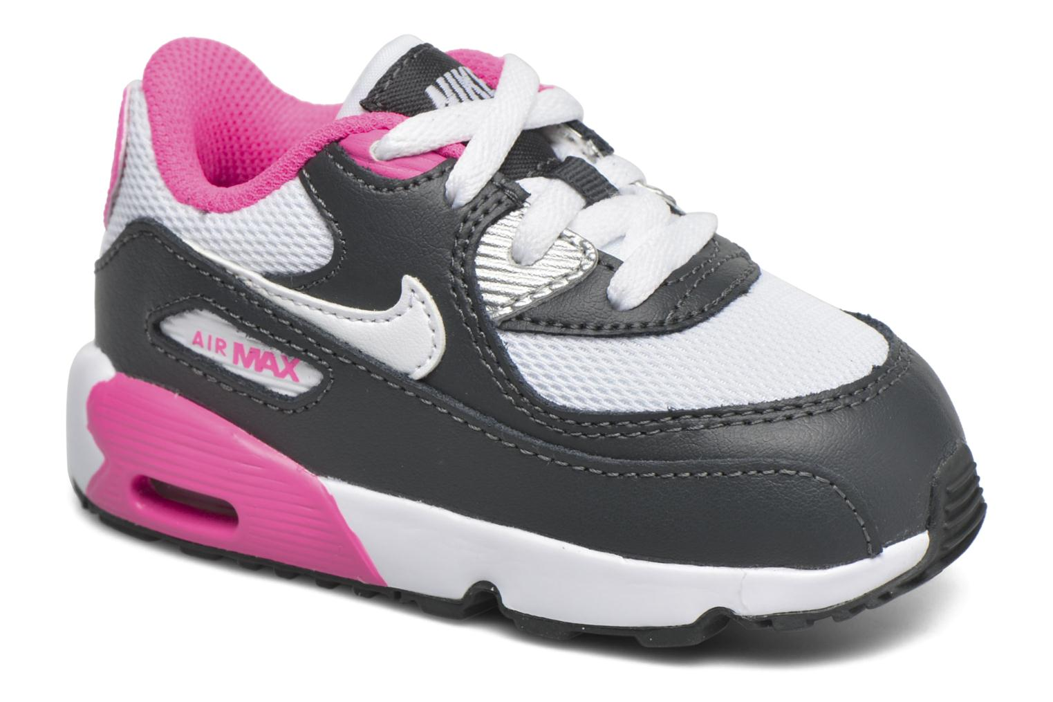 Baskets Nike NIKE AIR MAX 90 MESH (TD) Rose vue détail/paire